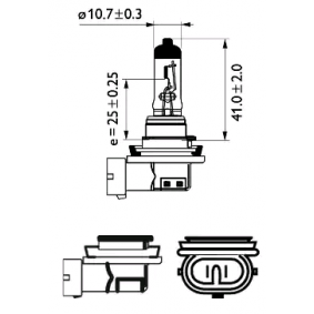 12362LLECOC1 Glühlampe, Fernscheinwerfer PHILIPS Erfahrung