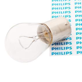 P21W PHILIPS P21W, BA15s, 12V, 21W Glödlampa, blinker 12498CP köp lågt pris