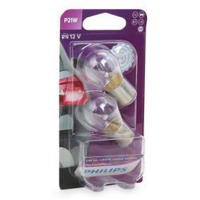 P21W PHILIPS VisionPlus P21W, BA15s, 12V, 21W Glühlampe, Blinkleuchte 12498VPB2 günstig kaufen