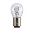 PHILIPS Bulb, indicator P21/5W, BAY15d, 12V, 21/5W 12499CP YAMAHA