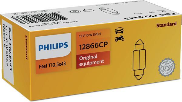 12866CP Glühlampe, Kennzeichenleuchte PHILIPS GOC48242628 - Große Auswahl - stark reduziert