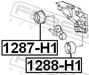 1288-H1 Umlenkrolle Zahnriemen FEBEST - Markenprodukte billig