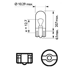 12961CP Lemputė, indikatorius PHILIPS - Pigus kokybiški produktai