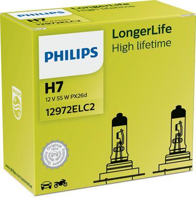 PHILIPS | Glühlampe, Fernscheinwerfer 12972ELC2