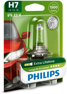 12972LLECOB1 Glühlampe, Fernscheinwerfer PHILIPS H7 - Große Auswahl - stark reduziert