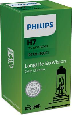 12972LLECOC1 Glühlampe, Fernscheinwerfer PHILIPS 36192630 - Große Auswahl - stark reduziert