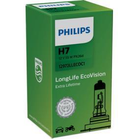 12972LLECOC1 Glödlampa, fjärrstrålkastare PHILIPS 36192630 Stor urvalssektion — enorma rabatter