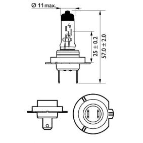 12972LLECOC1 Glödlampa, fjärrstrålkastare PHILIPS - Upplev rabatterade priser