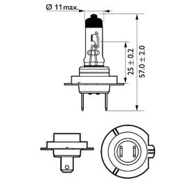 12972PRB1 Glühlampe, Fernscheinwerfer PHILIPS Erfahrung