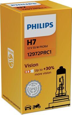 12972PRC1 Glödlampa, fjärrstrålkastare PHILIPS - Billiga märkesvaror