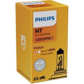 12972PRC1 Glödlampa, fjärrstrålkastare PHILIPS Stor urvalssektion — enorma rabatter