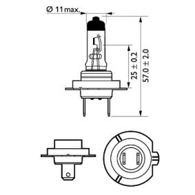 12972PRC1 Ampoule, projecteur longue portée PHILIPS - Produits de marque bon marché