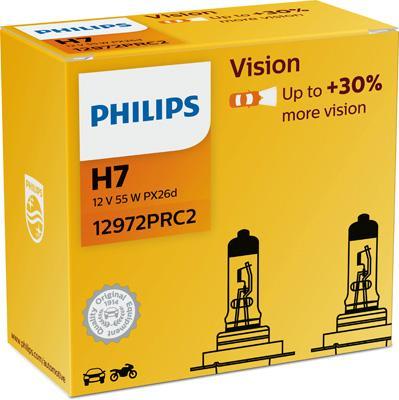 PHILIPS   Glühlampe, Fernscheinwerfer 12972PRC2