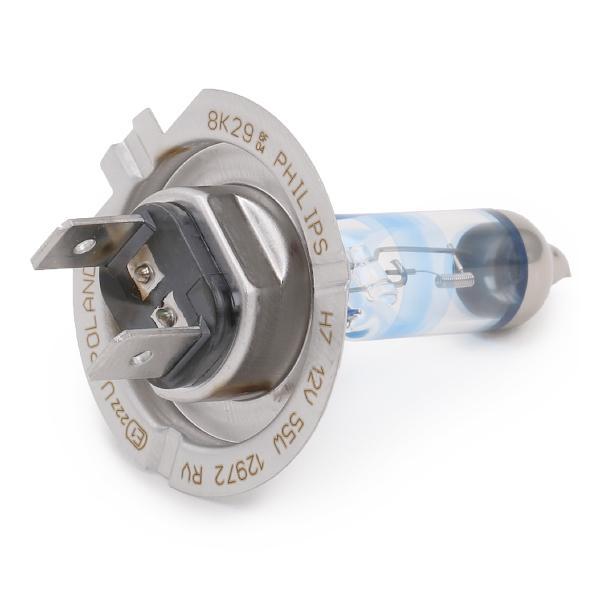 H7 PHILIPS RacingVision H7 12V 55W PX26d 3500K Halogen Glühlampe, Fernscheinwerfer 12972RVB1 günstig kaufen