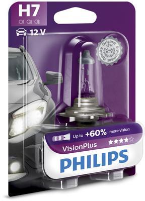 12972VPB1 Glühlampe, Fernscheinwerfer PHILIPS H7 - Große Auswahl - stark reduziert