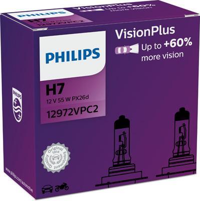 PHILIPS   Glühlampe, Fernscheinwerfer 12972VPC2
