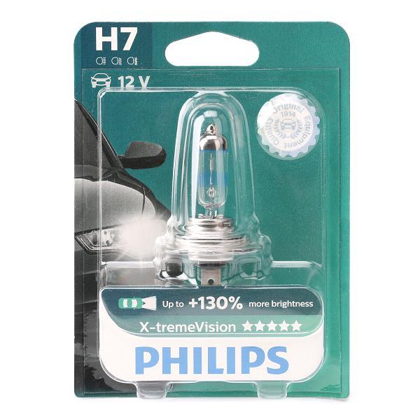 35040130 PHILIPS X-tremeVision H7 12V 55W PX26d 3700K Halogen Glühlampe, Fernscheinwerfer 12972XV+B1 günstig kaufen