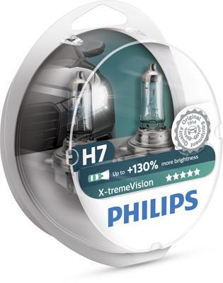 12972XVS2 Ampoule, projecteur longue portée PHILIPS H7 - Enorme sélection — fortement réduit