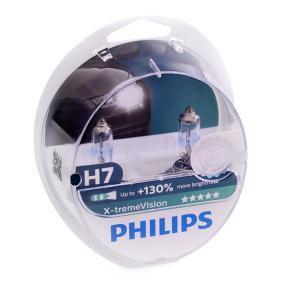 Achat de 35026528 PHILIPS X-tremeVision 55W, H7, 12V Ampoule, projecteur longue portée 12972XV+S2 pas chères