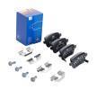 ATE: Original Bremsbeläge 13.0460-2793.2 (Höhe: 47,7mm, Breite: 95,5mm, Dicke/Stärke: 17,2mm) mit vorteilhaften Preis-Leistungs-Verhältnis
