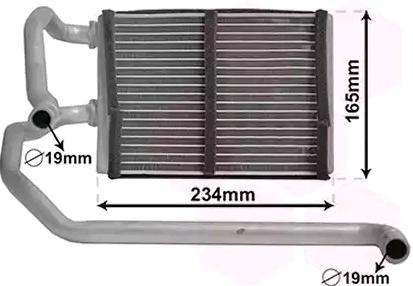 NISSAN GT-R 2013 Klima - Original VAN WEZEL 13006423 Aluminium, Kunststoff