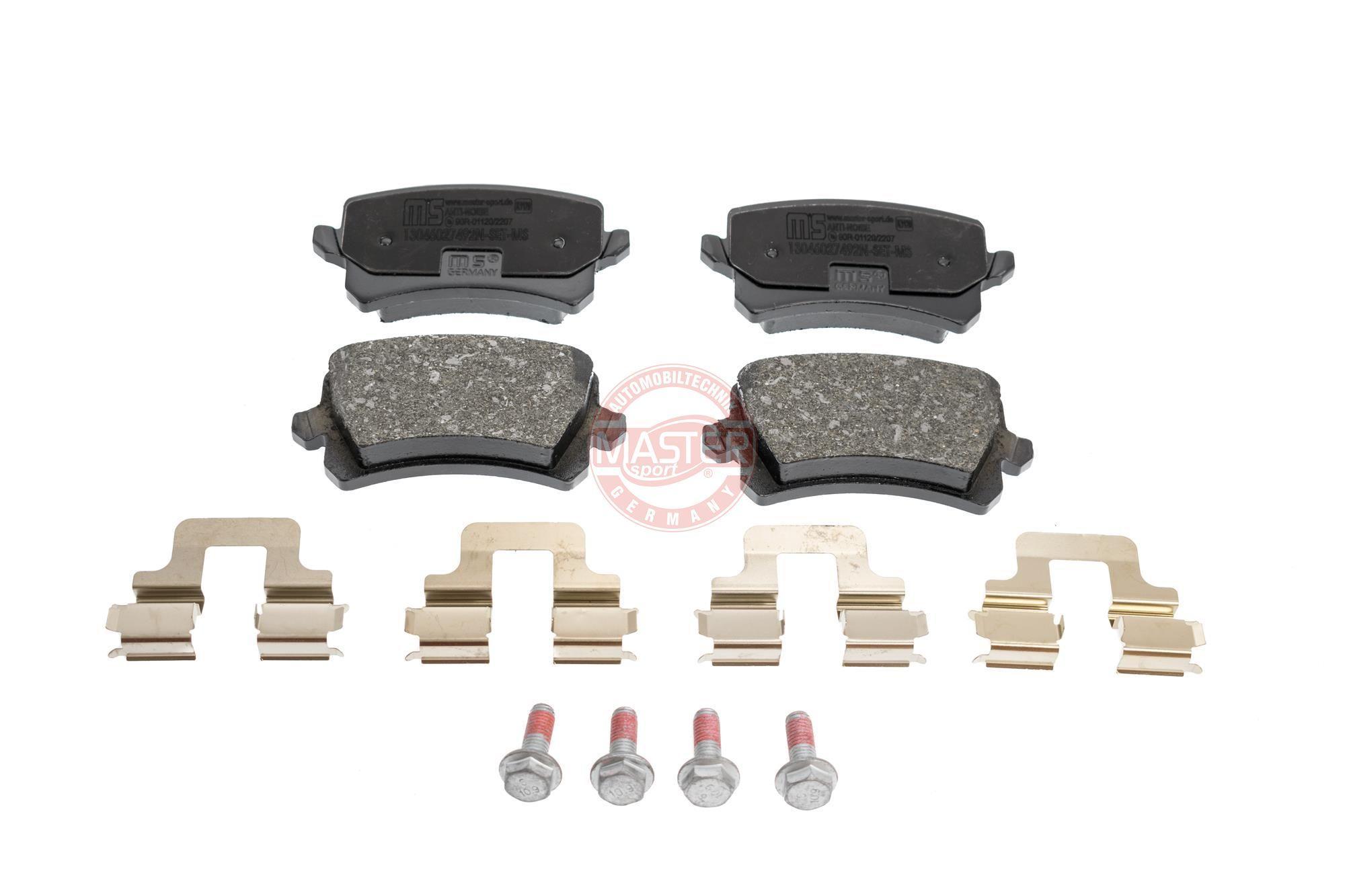 MASTER-SPORT Brake Pad Set, disc brake 13046027492N-SET-MS