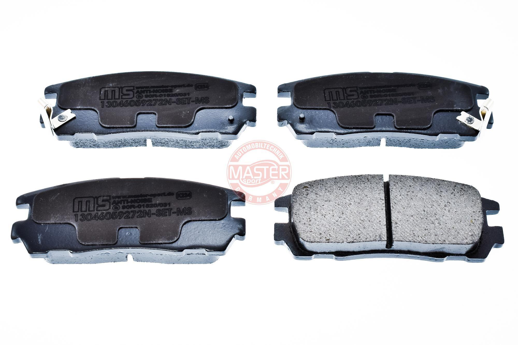 Bremsbelagsatz MASTER-SPORT 13046059272N-SET-MS