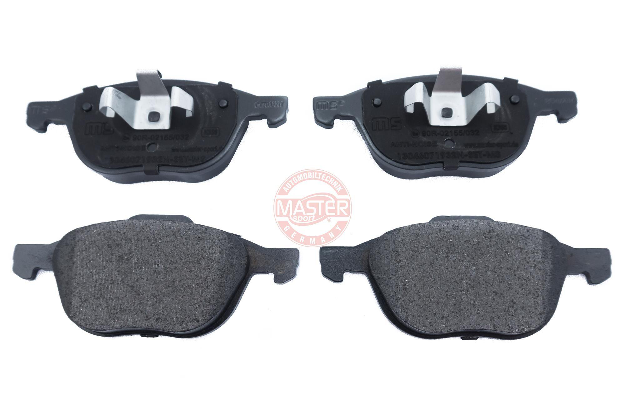 Brake pad set disc brake 13046071932N-SET-MS MASTER-SPORT — only new parts