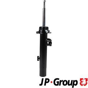 1442102689 JP GROUP Eje delantero, derecha, Presión de gas, Bitubular, Columna de amortiguador Amortiguador 1442102680 a buen precio