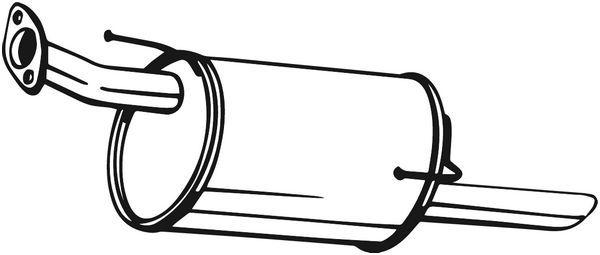 BOSAL: Original Endschalldämpfer 145-289 ()