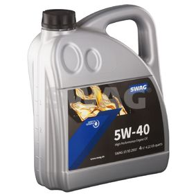 VW50500 SWAG 5W-40, 4l, Synthetiköl Motoröl 15 93 2937 günstig kaufen