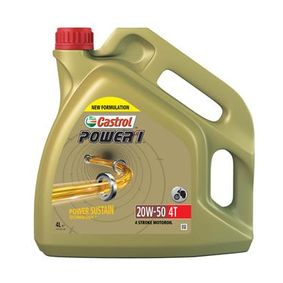 MitHCSynthese CASTROL POWER 1, 4T 20W-50, 4l Engine Oil 15049B cheap