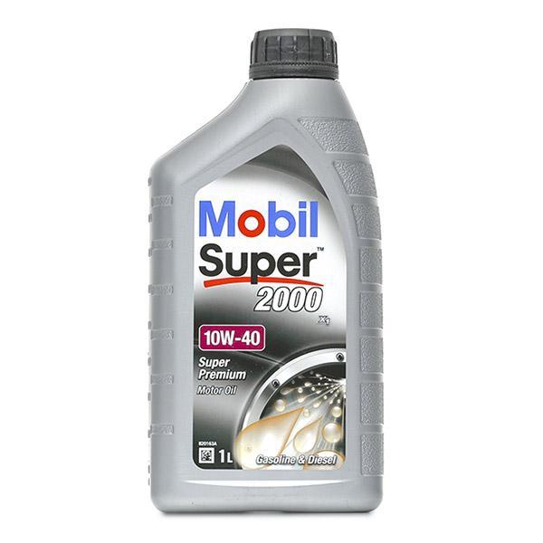 AAEB7 MOBIL Super, 2000 X1 10W-40, 1l, Part Synthetic Oil Engine Oil 150562 cheap