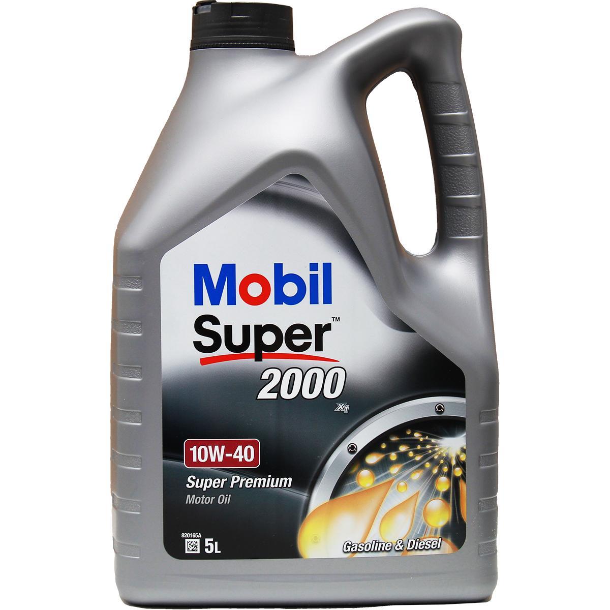 Acquistare ricambi originali MOBIL Olio motore Super, 2000 X1 150563