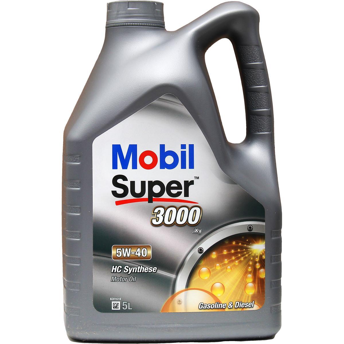 Acquistare ricambi originali MOBIL Olio motore Super, 3000 X1 150565
