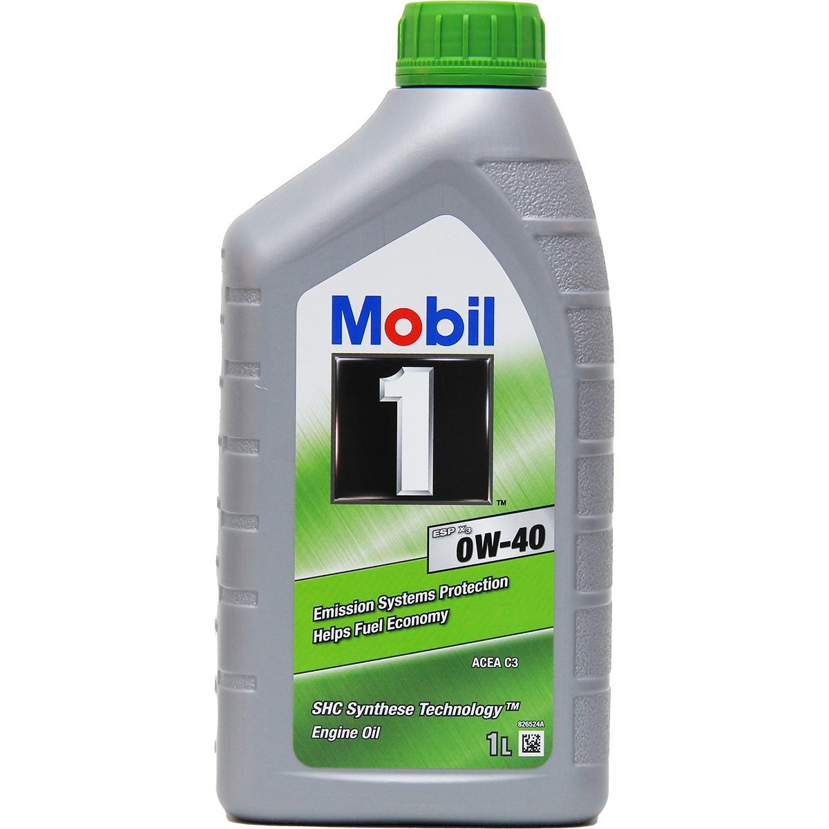 MBApproval22951 MOBIL 1, ESP 0W-40, 0W-40, 1l, Synthetiköl Motoröl 151500 günstig kaufen