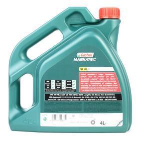 Køb RN0710 CASTROL Magnatec, C3 5W-40, 4l, Fuldsyntetisk olie Motorolie 151B38 billige
