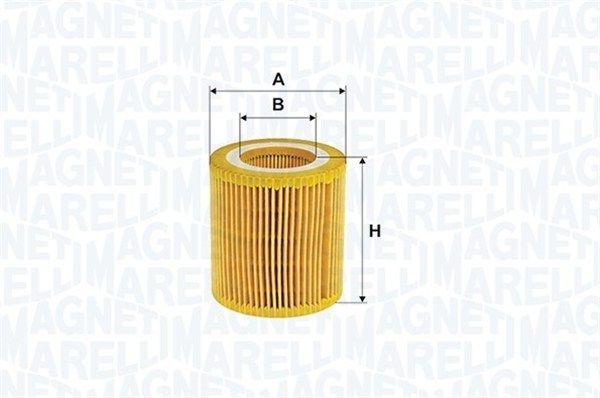 Ölfilter MAGNETI MARELLI 153071760782