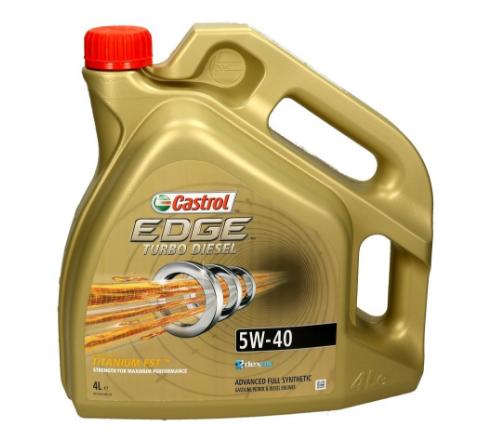 VW50500 CASTROL EDGE, Turbo Diesel 5W-40, 4l, Olej syntetyczny Olej silnikowy 1535BA kupić niedrogo