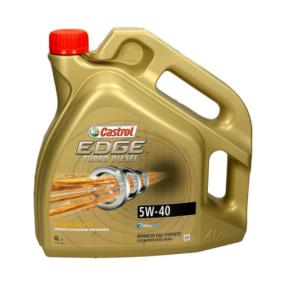 Comprare VW50500 CASTROL Turbo Diesel, EDGE TITANIUM FST 5W-40, 4l, Olio sintetico 100% Olio motore 1535BA poco costoso