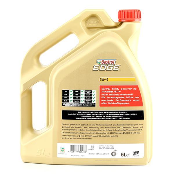 1535F1 Olio motore CASTROL RenaultRN0710 - Prezzo ridotto