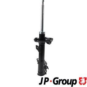 1542104479 JP GROUP Vorderachse links, Gasdruck, Zweirohr, Federbein Stoßdämpfer 1542104470 günstig kaufen