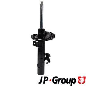 1542105079 JP GROUP Vorderachse links, Gasdruck, Zweirohr, Federbein Stoßdämpfer 1542105070 günstig kaufen