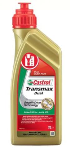 x CASTROL TRANSMAX, Dual Inhalt: 1l Automatikgetriebeöl 154DF6 günstig kaufen