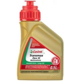 Kupte a vyměňte Olej do automatické převodovky CASTROL 154EF6