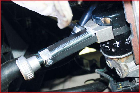 155.5002 Cinghia filtro olio KS TOOLS Test