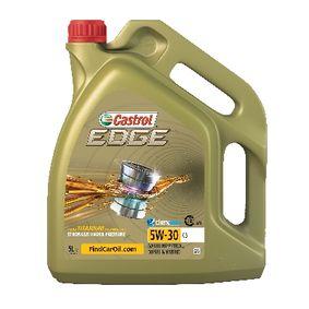 Kjøp VW50501 CASTROL C3, EDGE TITANIUM FST 5W-30, 5l, Syntetisk olje Motorolje 1552FD Ikke kostbar