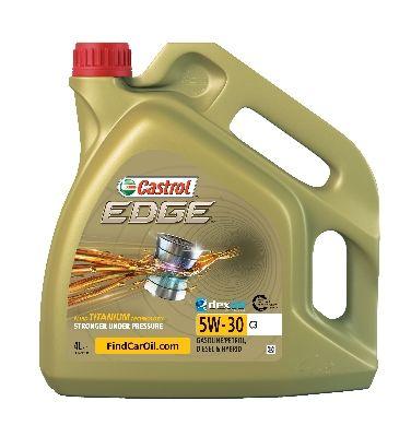 Köp CASTROL 1552FF - Motorolja till Toyota: 5W-30, 4l, Helsyntetisk olja