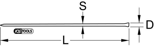 KS TOOLS   Kofot / bräckjärn 156.0595