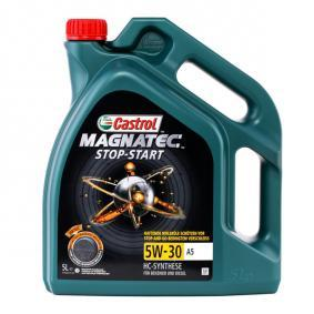 A5B5 CASTROL Magnatec, Stop-Start A5 5W-30, 5l, Full Synthetic Oil Engine Oil 159A60 cheap